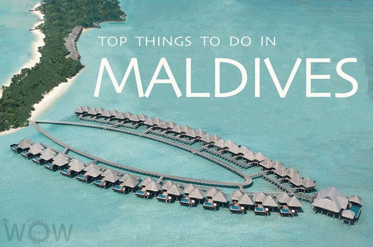 Amazing coral reefs, white sandy beaches, warm crystal clear waters, exhilarating water sports and luxurious resorts. Check out our Top 8 Things To Do In Maldives.