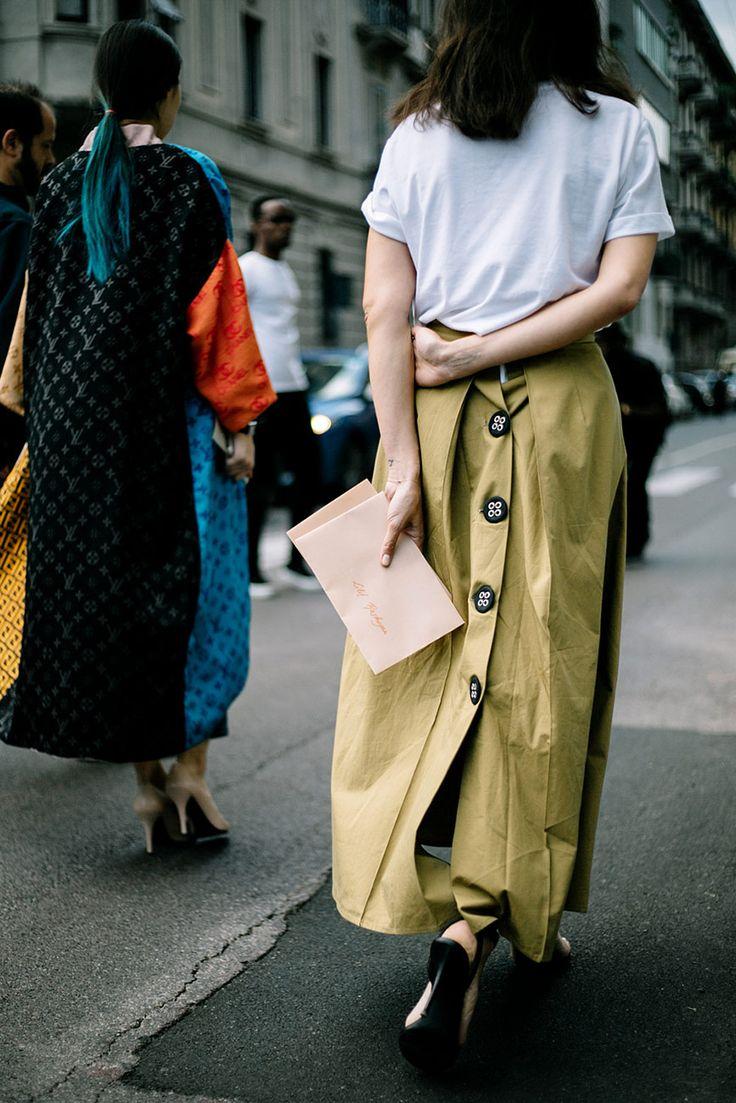 MFW Street Style SS2017 | @vestirelalma