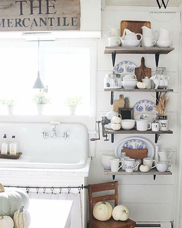 Mejores 922 imágenes de kitchen in white en Pinterest | Cocinas de ...