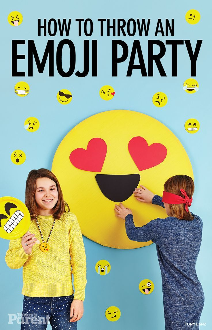 How to throw an emoji party!