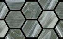OUR SUPPLIER - Glass Hexagonal Mosaics