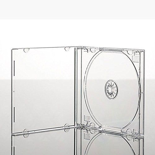 Vision Media 5 X Single CD Jewel Case Clear Tray - 10.4mm Spine Clear (Barcode EAN = 0616453867918). http://www.comparestoreprices.co.uk/december-2016-6/vision-media-5-x-single-cd-jewel-case-clear-tray--10-4mm-spine.asp
