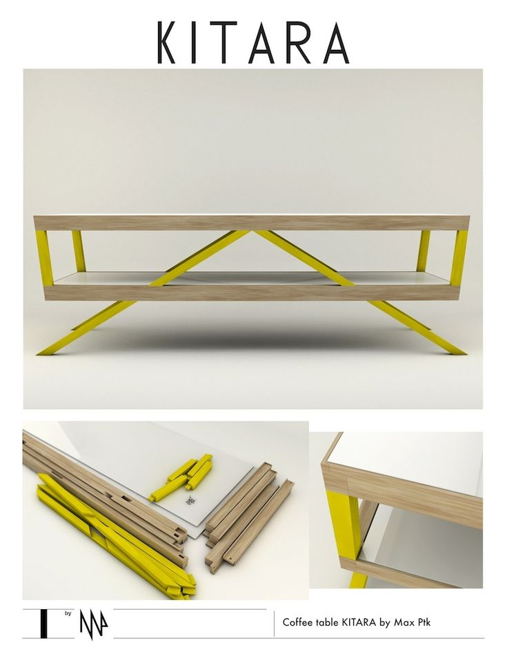 Coffee Table KITARA By Max Ptk_furniture_design_product
