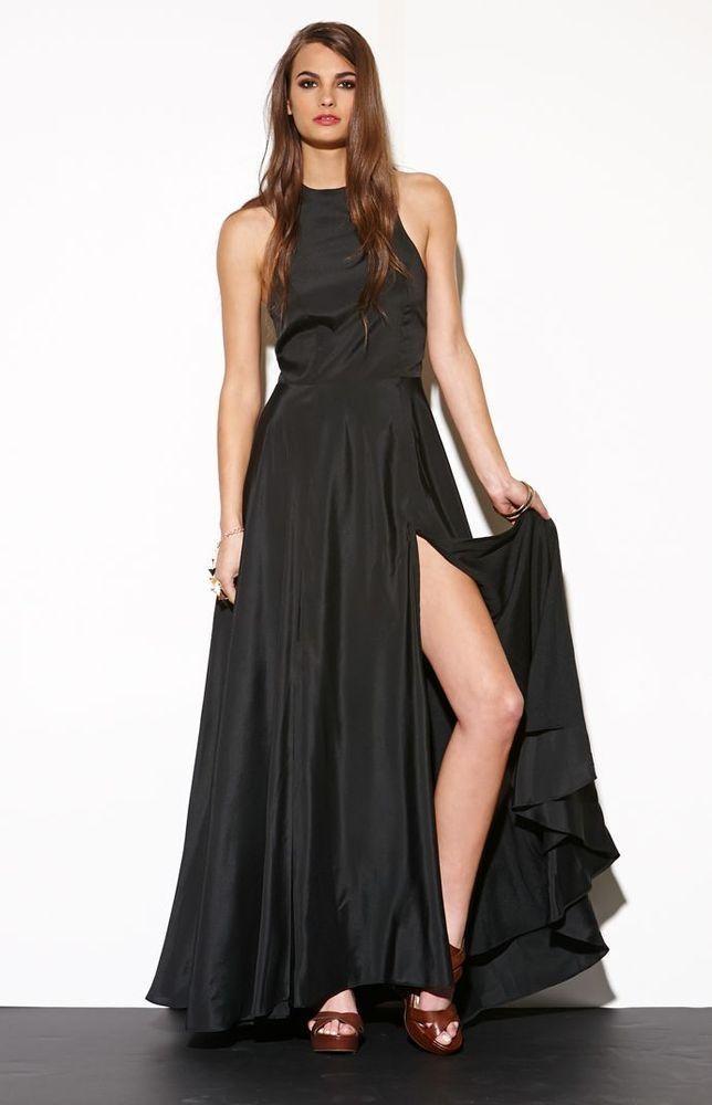 After 5 black dresses maxi