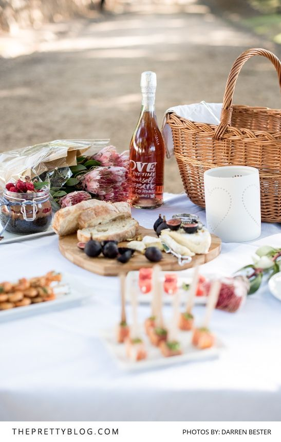 7258d566b65b9b4e0aecbffc27afe102 romantic picnic ideas picnic photography - Delicious Delights for a Valentine's Day Picnic | Recipes | Photographs by D...