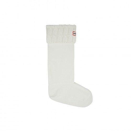 Oferta: 34.65€. Comprar Ofertas de Hunter Socks 6 Stitch Cable Natural White UAS3036AAB - Calcetines de forro polar para botas de agua, color blanco, M barato. ¡Mira las ofertas!