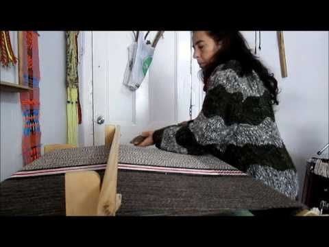 TELAR MARIA - tejiendo - YouTube