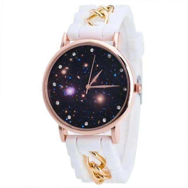 Watch Women Fashion Watch 2017 Silicone Girls Sky Unisex Women Analog Quartz Wrist Watches For Women Girls Relojes Mujer &03