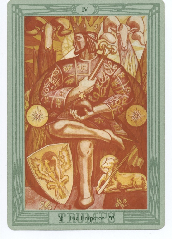 More Tarot Tuesday The Occult Detective The High: ALEISTER CROWLEY THOTH TAROT CARD DECK.