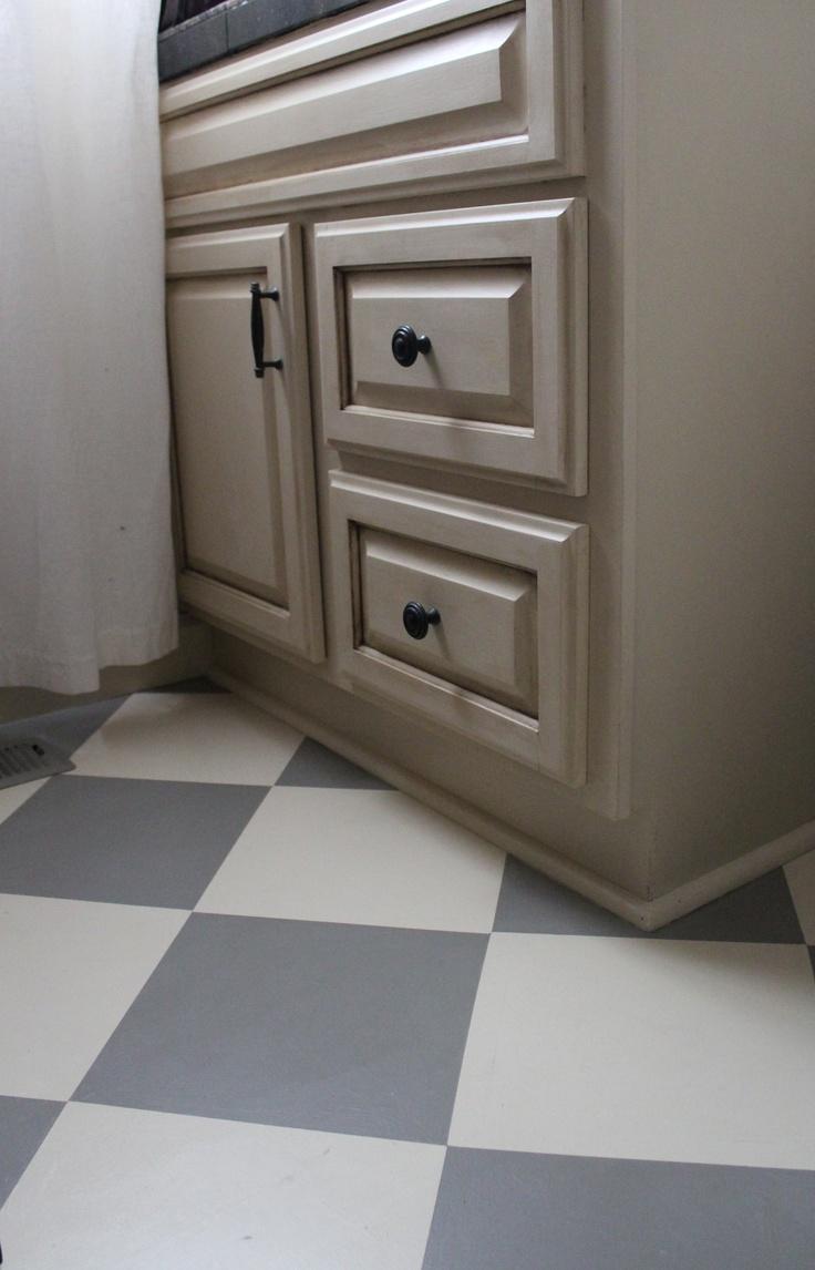 cabinet refinishing bathroom