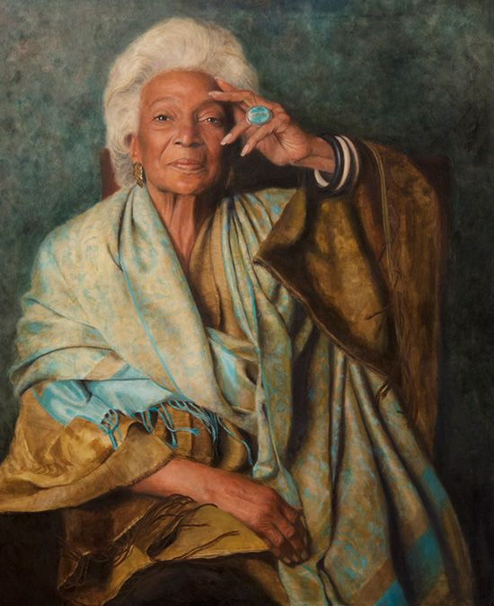 News - Guest blogger and longtime Nichelle Nichols fan Dave Arland takes StarTrek.com readers behind the scenes of the creation of two paintings of beloved Trek icon Nichols. Read on at...