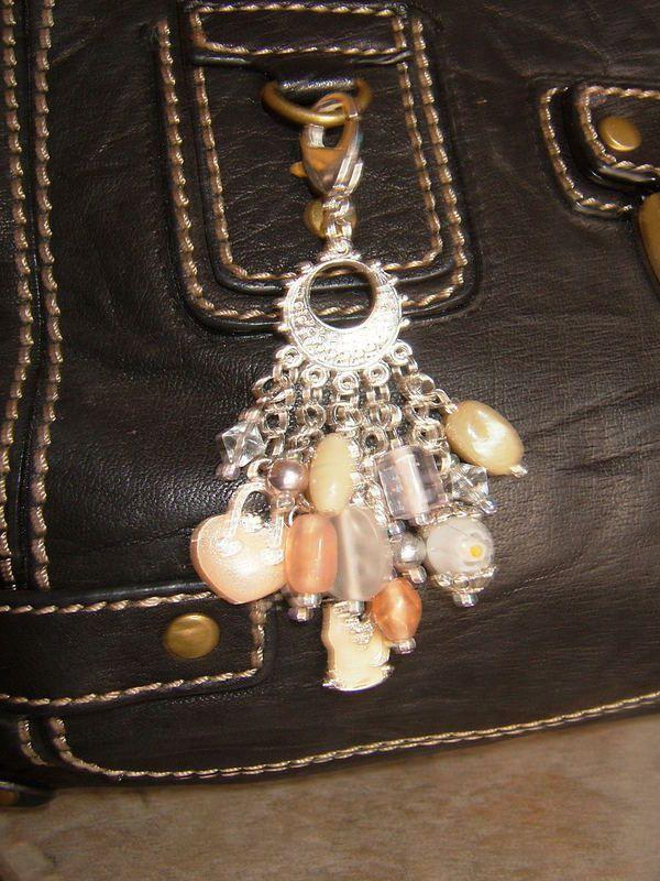 Champagne Lady Purse Dangle · A Bag Charm · Jewelry Making on Cut ...