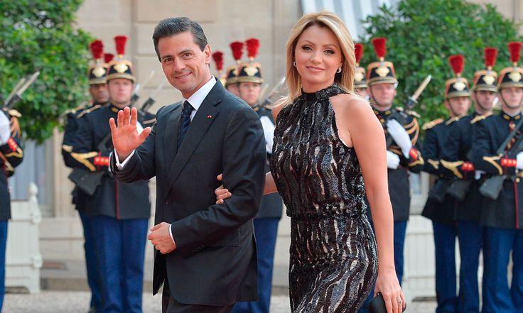 Enrique Peña Nieto a Angélica Rivera: 'Feliz cumpleaños a mi muy amada esposa'