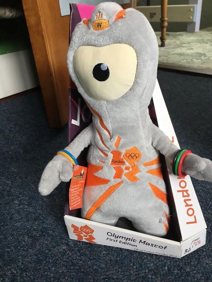 Rare London 2012 Olympic Mascot Wenlock First Edition Limited to 2012 Hamleys  | eBay