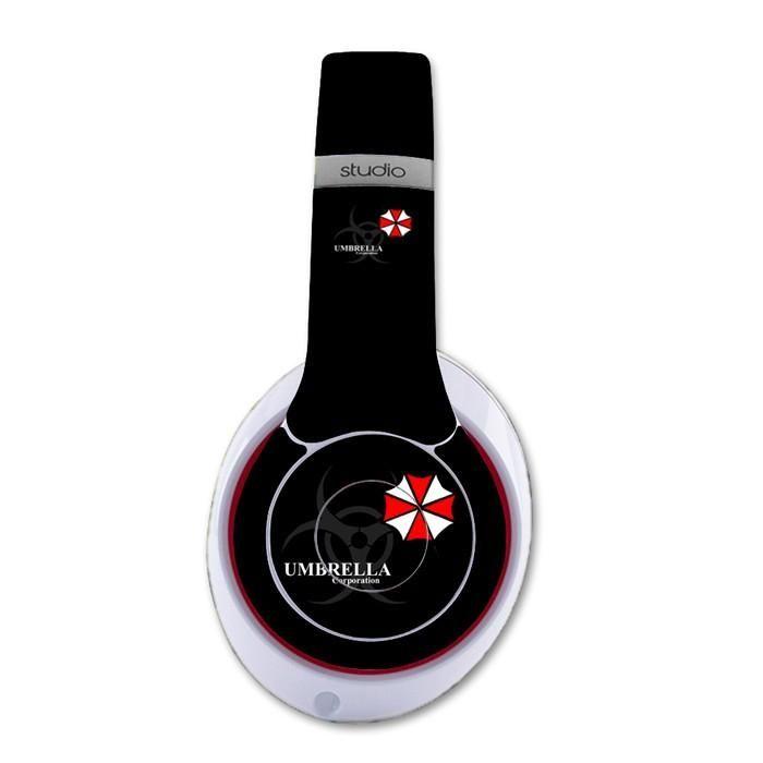 Umbrella Corp decal for Monster Beats Studio 2.0 wireless headphones