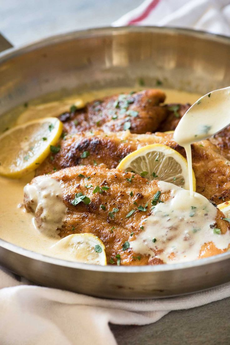 Get Dinner on the Table Fast With Creamy Lemon Chicken and Linguine
