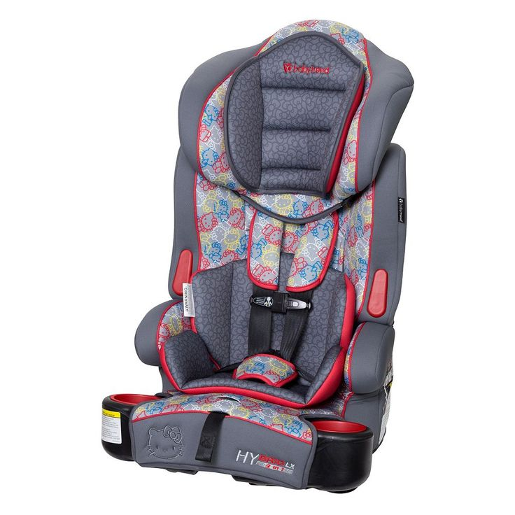 Baby Trend Hybrid LX Hello Kitty® 3-in-1 Booster Car Seat, Multicolor