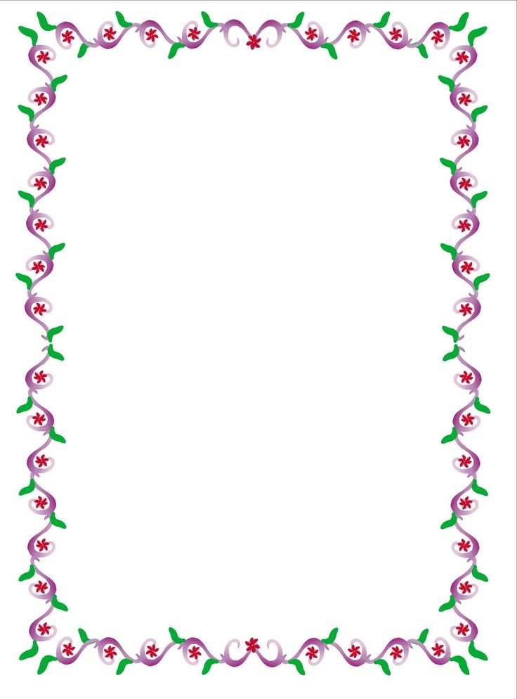 Pin by i t on borders frames flowers pinterest clip for Decoraciones para hojas