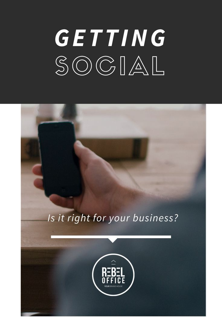 Getting Social - Is it right for your business?
