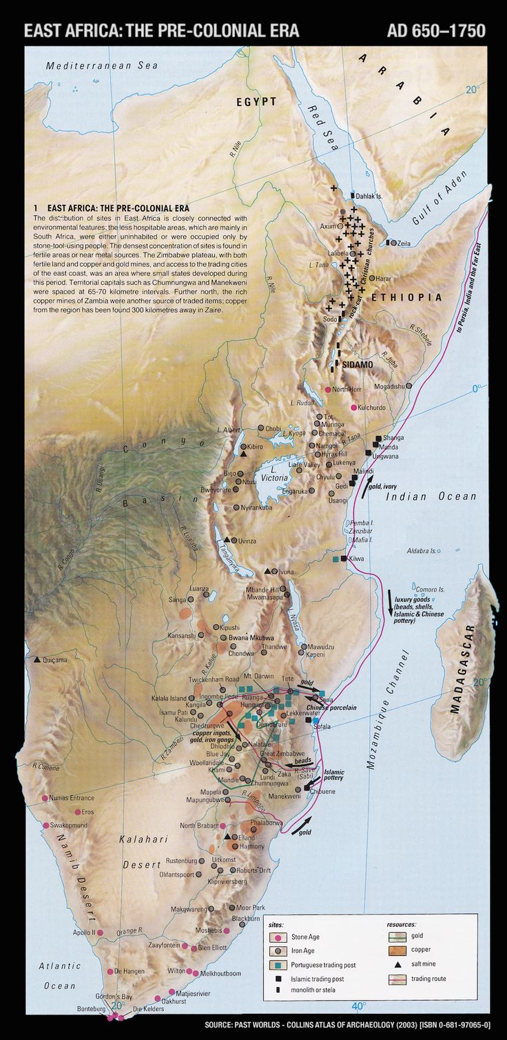 The Pre Colonial Trading Kingdoms of East Africa