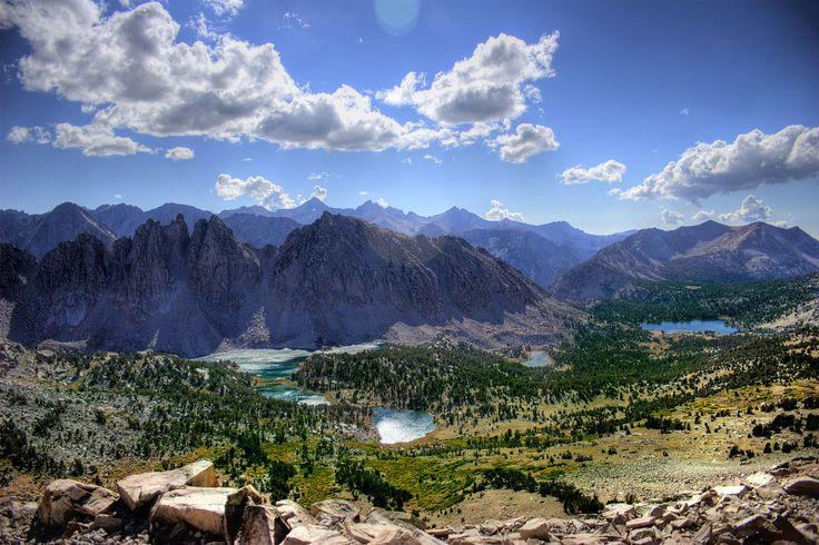 Kearsarge Lakes Basin, Sierra Nevada, U.S. | Wikipedia
