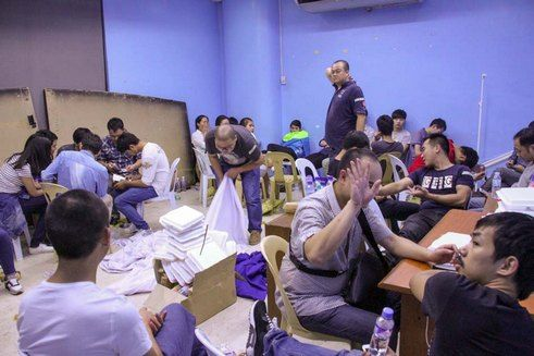 Philippines Immigration Bureau Arrests 1,240 Unlawful Chinese Workers In Manila