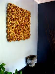 Make a DIY cork board! Use hot