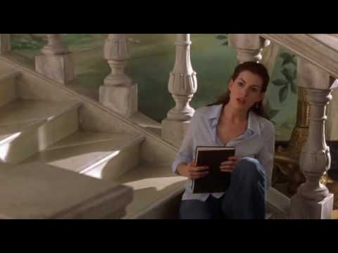 The Princess Diaries 2 - The  stairs & closet scene (+playlist)