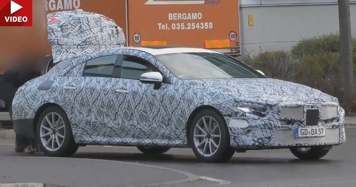 2018 Mercedes-Benz CLS Prototype Caught Yet Again On Video #Mercedes #Mercedes_CLS