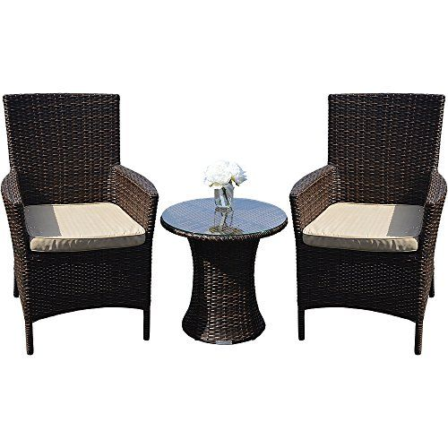 Oxford 2 Seat Brown Outdoor All Weather Rattan Garden Bistro Set. 988 best Rattan Tables images on Pinterest   Tray  Barbecue and