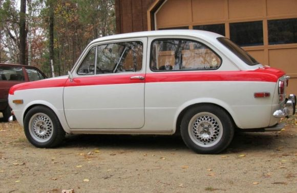 1971 Fiat 850 Berlina very first car totaled it at 16