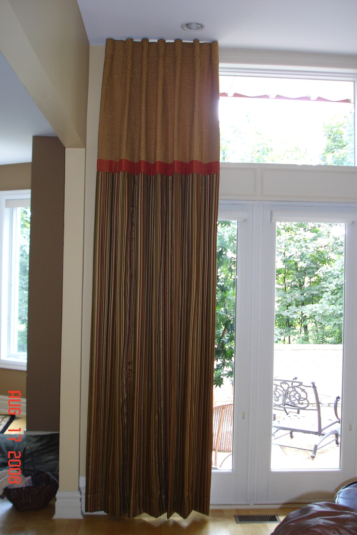 Custom Window Treatment CUSTOM WINDOW TREATMENTS