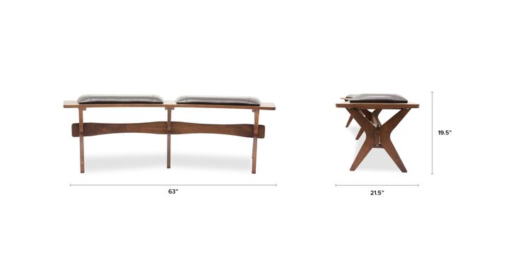 Conan Dining Bench - Benches - Article | Modern, Mid-Century and Scandinavian Furniture