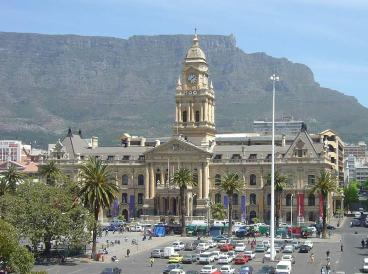 Stadhuis (City Hall) Kaapstad (Cape Town), Zuid-Afrika (South-Africa)