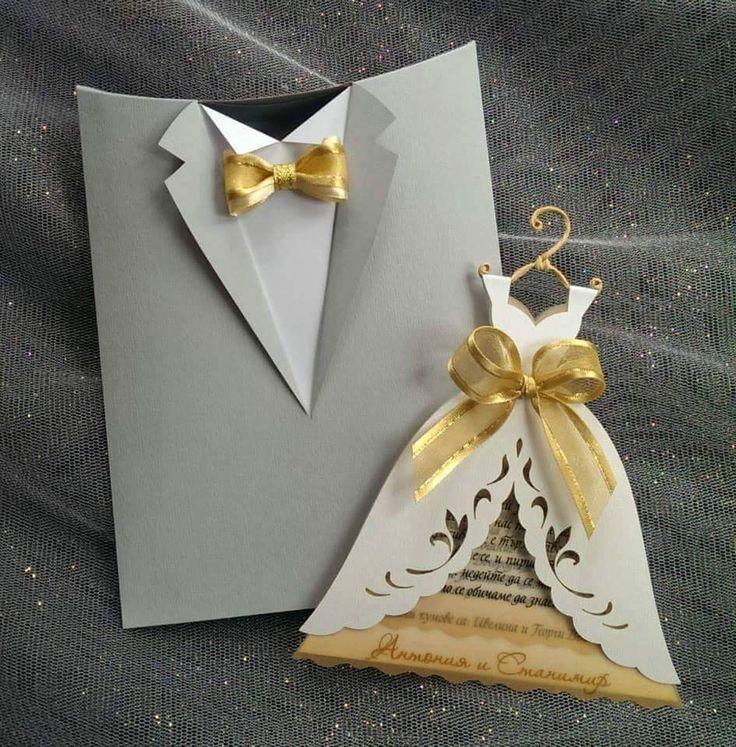 CASA DECORACIÓN: 15 maravillosas tarjetas de invitación de boda