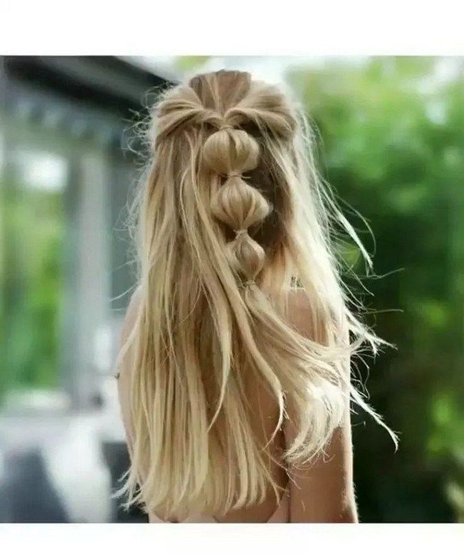 50+ super quick and easy hairstyles for 2019 36