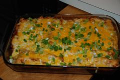 Pork Carnitas Enchiladas (Left Over Delight) | recipesfrommykitchen