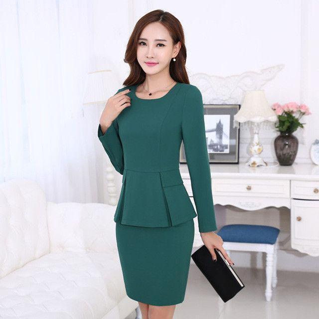 Creative Spring Women Skirt Suits New Highend Business Attire Women39s Suit