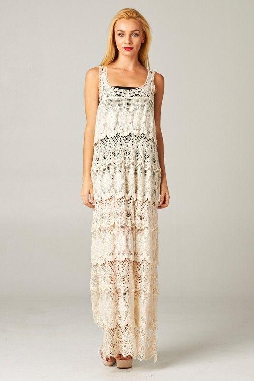 Crochet Gabriella Dress