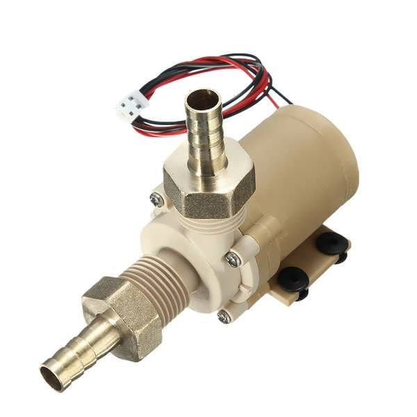 DC 12V Solar Hot Water Circulation Pump Brushless Motor Water Pump  Worldwide delivery. Original best quality product for 70% of it's real price. Buying this product is extra profitable, because we have good production source. 1 day products dispatch from warehouse. Fast & reliable...