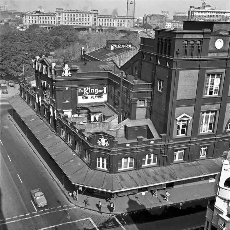 Tivoli Theatre and Hotel Sydney on 12 August 1963.Photo from Dictionary of Sydney.A♥W