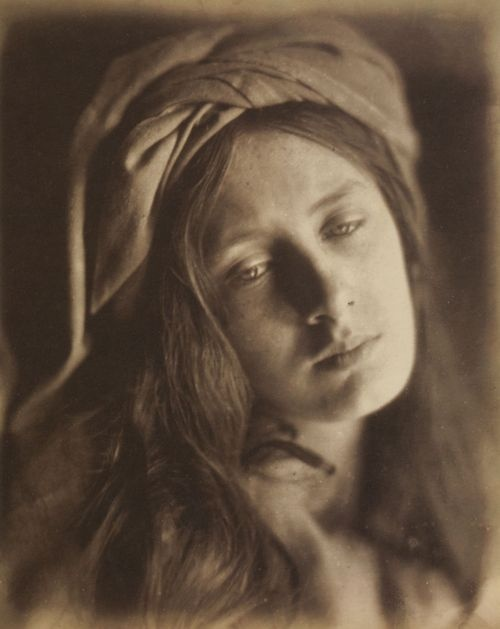 Julia Margaret Cameron    Beatrice (May Prinsep)    Albumen silver print from wet collodion glass negative, 1866    From Julia Margaret Cameron's Women