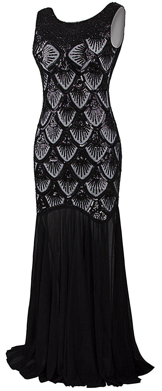 Vijiv womenus s sequin mermaid long gown evening prom dresses v