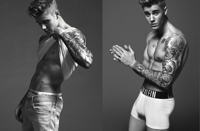 The release of Justin Bieber's Calvin Klein campaign earlier this week brought with it an unexpected and upsetting question for many across the world--some of them employees of this very blog: Is Justin Bieber actually kind of hot? Thanks to an unretouched photo obtained by TMZ, we can all breathe a sigh of relief.