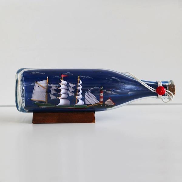 Boat in a Bottle - Large | Tea Pea