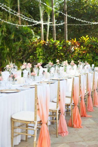 ideas para decorar tu boda en color coral - blog de bodas originales