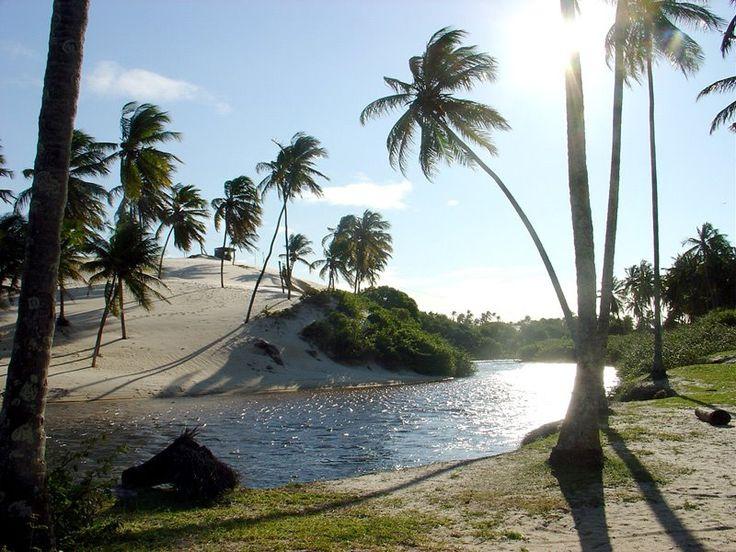 # Punaú RN - Barra do rio Punaú  - Tiroleza