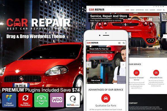 Car Repair Auto Mechanic Wordpress Auto Repair Car Mechanic Repair