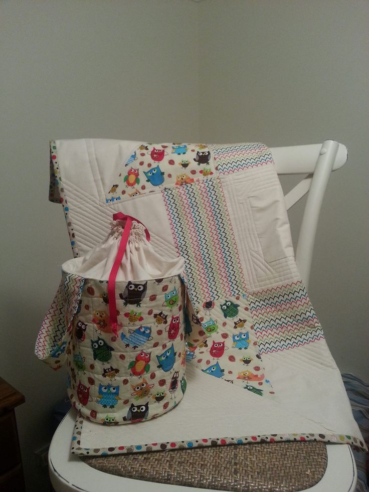 Baby Quilt and Carry all bag