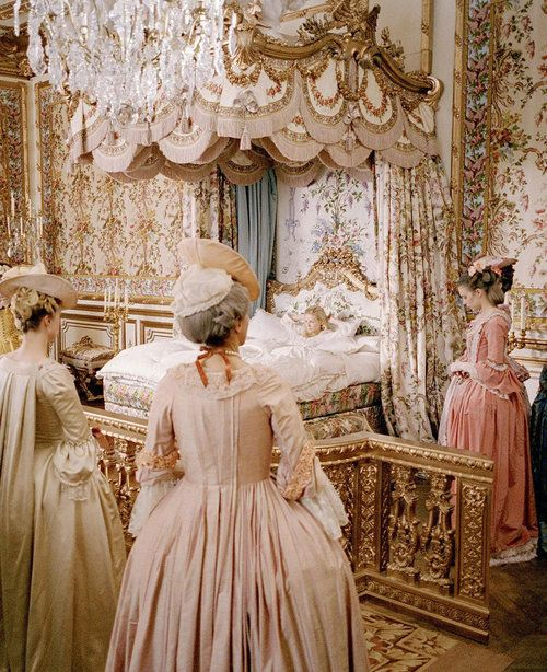 I know this picture.... Marie Antoinette
